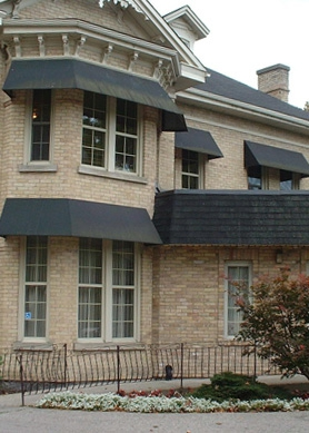 Awnings used with air conditioning can save you up to 25% in energy costs