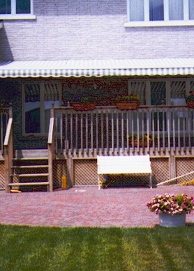 Awnings protect your furniture and carpets from fading caused by ultraviolet rays